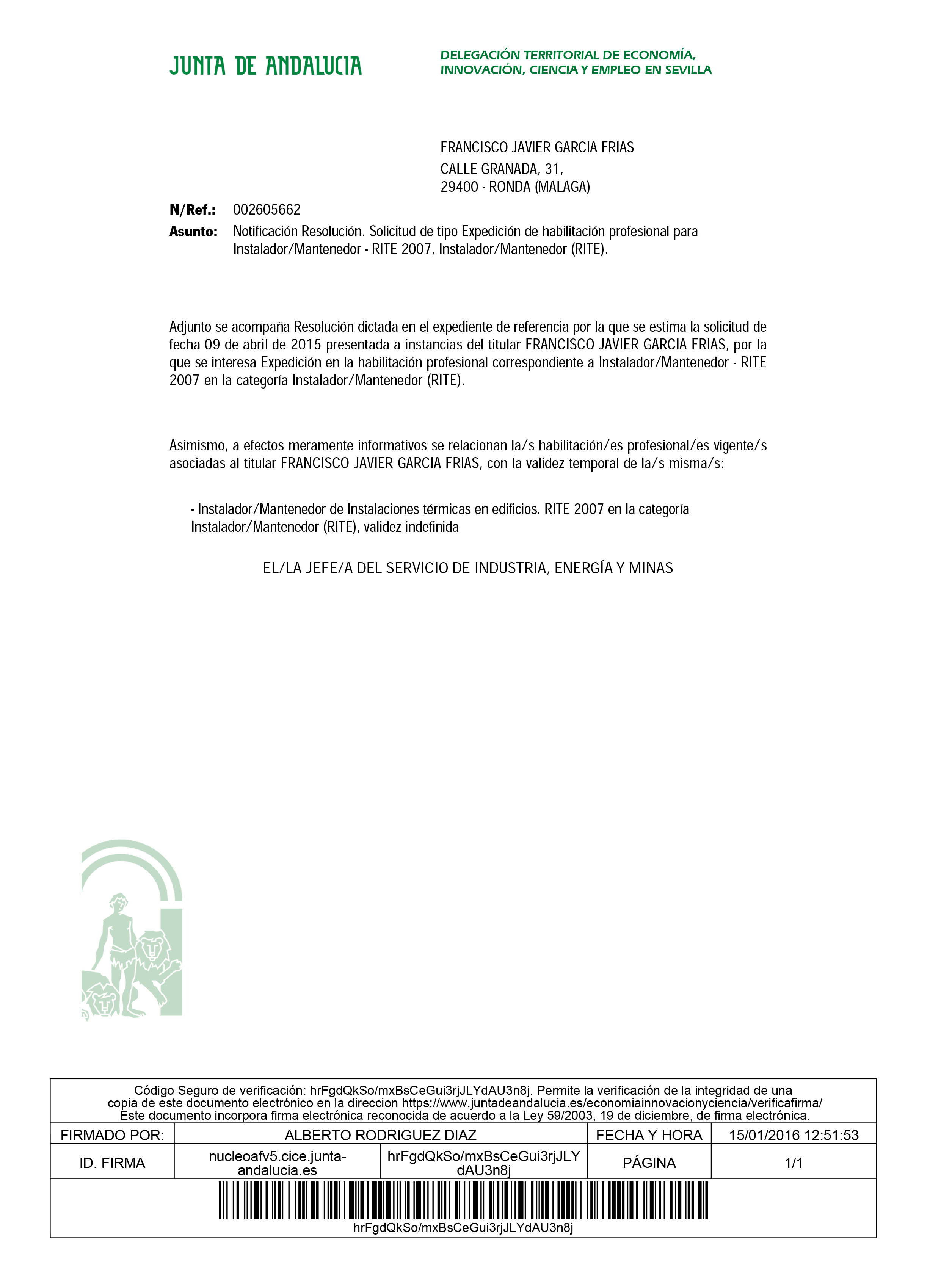 HABILITACIÓN INSTALADOR MANTENEDOR  RITE -1